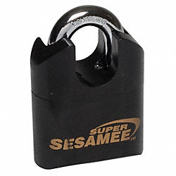 Combination Resettable Padlock, Steel