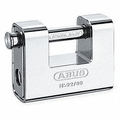 Steel Plated Brass Monoblock Padlock
