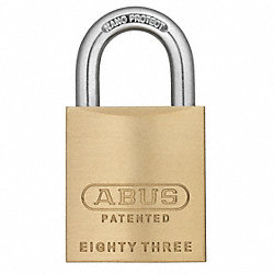 Rekeyable Solid Brass Padlock