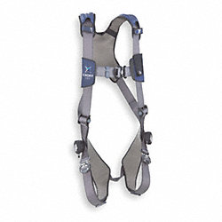 Full Body Harness, L, 420 lb., Blue