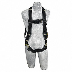 Full Body Harness, Universal, 320 lb, Black