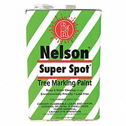 Lead Free Tree Marking Paint, Red, 1 gal.