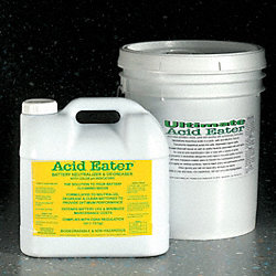 Battery Acid Neutralizer, 2.5 gal., PK2