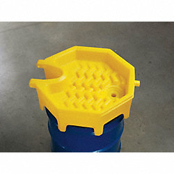 Drum Funnel, 18 In, with Spout