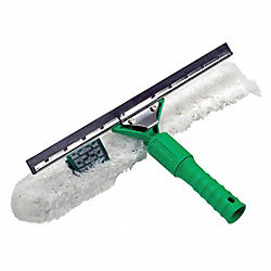 Squeegee, Green, 18 In. L, Rubber