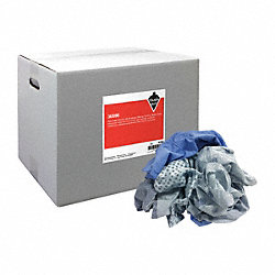 Shop Towels, All Purpose, Cotton, 25 lb Box