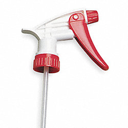 Trigger Sprayer, 24 or 32 oz., Red/White