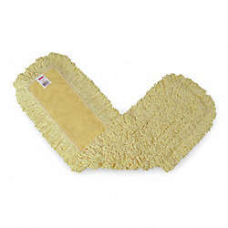 Dust Mop, Yellow, 36 In. L, 5 In. W
