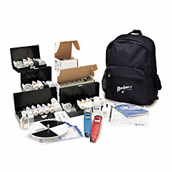 Backpack Lab, Chemical Test Kits