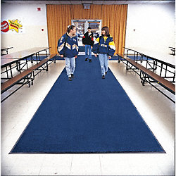 Entrance Mat, Blue, 5/16 In, 4 ft x Custom