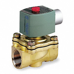 Solenoid Valve, 3/4 In, Orifice 3/4 In