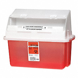 Sharps Container, 1.25 Gal., PK3