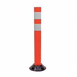 Delineator Post, Height 28 In, Orange