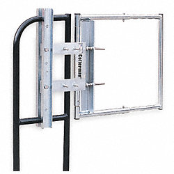 Adj Safety Gate, 16 to 26 In, Gray