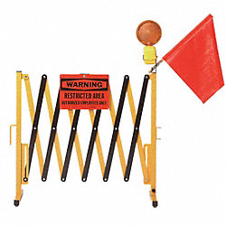 Collapsible Barrier, 38 In. H