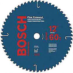 Circular Saw Bld, Crbde, 12 In, 60 Teeth