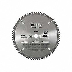 Circular Saw Bld, Crbde, 12 In, 80 Teeth