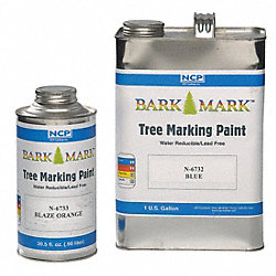 Boundary Marking Paints, Blaze Orng, 1 gal