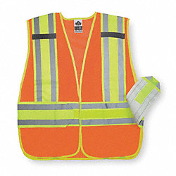 High Visibility Vest, Class 2, M/L, Orange