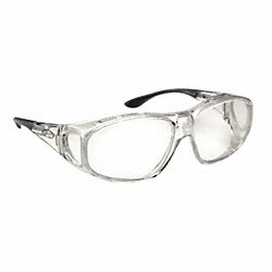 Safety Glasses, Smoke, Scratch-Resistant