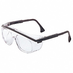 Safety Glasses, Clear, Chmcl, Scrtch-Rsstnt