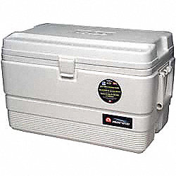 Marine Chest Cooler, 54 qt., White