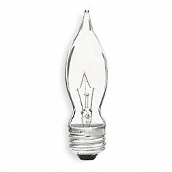 Incandescent Light Bulb, CA9, 40W, PK2