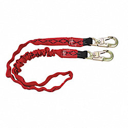 Lanyard, 1 Leg, Nylon , Red