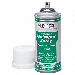 Antiseptic Spray, 3 oz. Aerosol