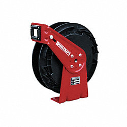 Hose Reel, Spring Return, 3/8 In IDx35 Ft