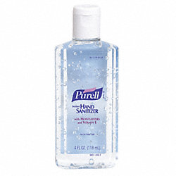 Hand Sanitizer, Size 4 oz., Gel, PK 24