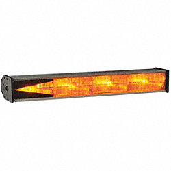 Directional Warning Light, Amber, 19 In L