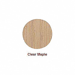 Screw Cap, Wood, Maple, 9/16 In, Pk 52