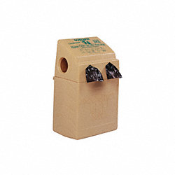Pet Waste Station, Bag Dispenser, Beige
