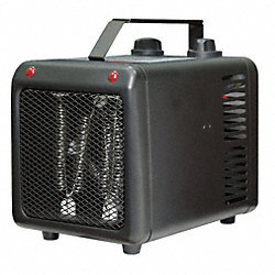 Electric Space Heater, Fan Forced, 120V,