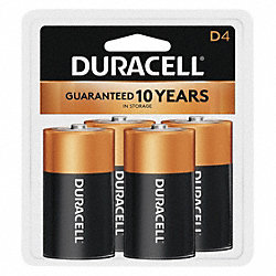 Battery, Alkaline, PK 4