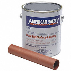 Anti-Slip Floor Coating, 1 gal, Med Gray
