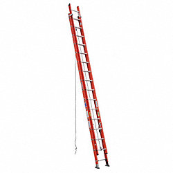 Extension Ladder, Fiberglass, 32 ft.
