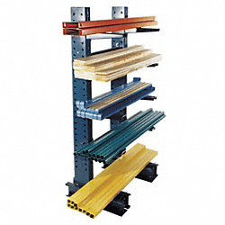 Starter Cantilever Rack, 1 Side, 8 ft. H