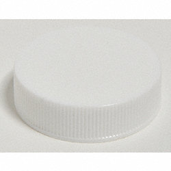Closure Cap, 38mm, Polypropylene, Wht