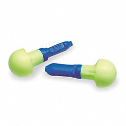 Ear Plugs, 28dB, w/o Cord, Univ, PK100