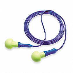 Ear Plugs, 28dB, Corded, Univ, PK100