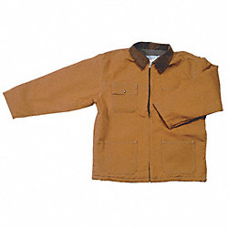 Chore Coat, Quilt Lined, Brown, 2XL