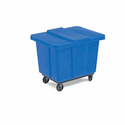 Cube Truck Lid, Blue, Fits 12-1/2 cu. ft.
