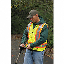 High Visibility Vest, Class 2, 2XL, Lime