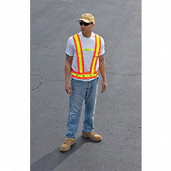High Visibility Sash, Class 1, 3XL, Orange