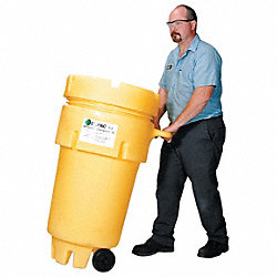 Spill Kit, Wheeled Can, 31 gal., Universal