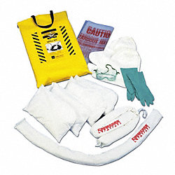 Spill Kit, Carrying Bag, 5 gal.