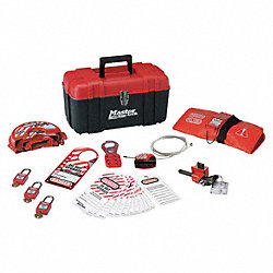 Portable Lockout Kit, Filled, Valve, 23