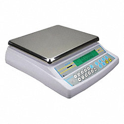 Digital Bench Scale, SS Pltfrm, 35 lb. Cap